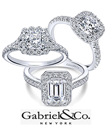 gabriel wedding rings